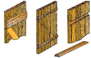 Деревянные двери из досок – доступные способы изготовления своими руками