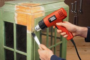 Фен для строительных работ – выбираем недорогой инструмент для дома