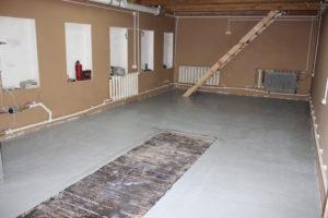 Какой толщины должен быть пол в гараже?