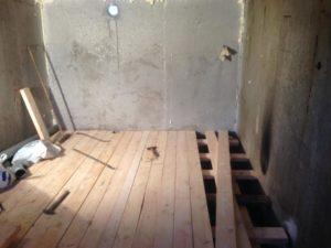 Самостоятельны ремонт пола в гараже