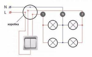 Как подключить точечные светильники – схемы разводки и рабочие нюансы