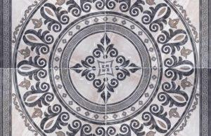 Панно из керамогранита для пола: варианты раскладки и производители