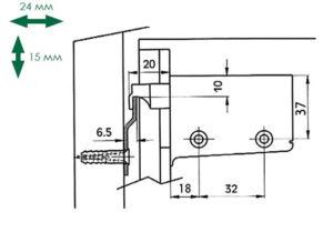 Крепление кухонных шкафов на планку и другие варианты подвешивания