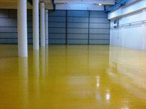 Финишные покрытия для бетонного пола