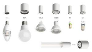 Виды цоколей ламп освещения – рассматриваем все существующие варианты