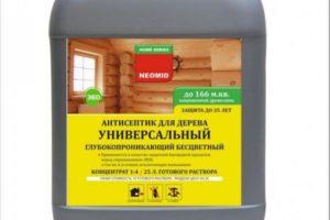 Антисептик для древесины – классификация и правила выбора препарата