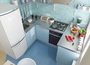 Ремонт кухни в хрущевке – используем малое пространство разумно