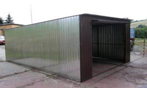 Каркасный гараж из профильной трубы – строим надежный и недорогой автодом