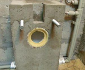 Установка подвесного унитаза с инсталляцией и на бетонное основание