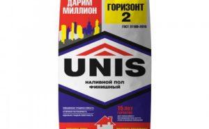 Наливной пол Unis: ассортимент продукции и особенности укладки