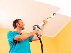 Как и чем помыть потолок, покрашенный водоэмульсионной краской