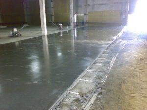 Железнение бетонных полов