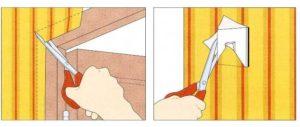 Можно ли клеить обои на краску – разные подходы в зависимости от отделки