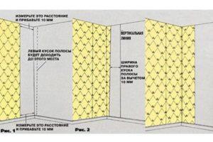 Как клеить флизелиновые обои в углах – поэтапная инструкция