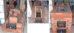 Печи для дома на дровах – как сделать своими руками из кирпича