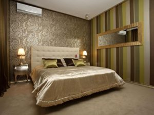 Какие обои выбрать в спальню – разновидности облицовки и лучшие цвета