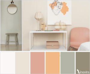 Палитра красок для стен – учимся правильно сочетать цвета