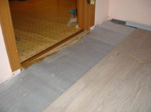 Укладка ламината на бетонный пол с подложкой – как правильно провести монтажные работы