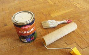 Масла или лаки для паркетного пола