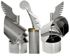 Процесс изготовления и установки флюгера на дымоход своими руками