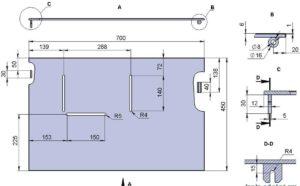 Простой стол для циркулярной пилы – инструкция по изготовлению с чертежами