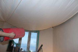 Монтаж натяжных потолков без нагрева своими руками