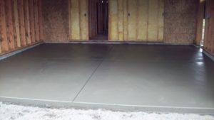 Технология укладки бетонного пола в гараже