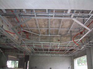 Монтаж подвесного двухуровневого потолка из гипсокартона своими руками