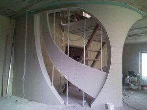 Конструкции из гипсокартона – построим сами любое сооружение!