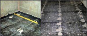 Заливка стяжки пола в ванной под плитку