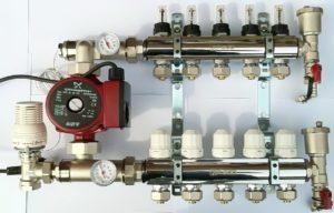 Коллектор для теплого пола, устройство и монтаж