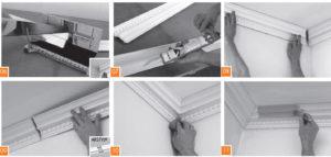 Монтаж потолочного плинтуса – подробное пошаговое руководство для мастера и новичка