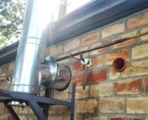 Вытяжка для газового котла – как сделать своими руками в частном доме