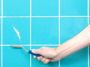 Как удалить затирку из швов плитки – реагенты и подручные материалы