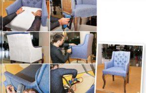 Перетяжка мебели – экономим на ремонте и делаем сами