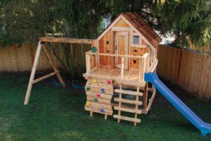 Детский домик своими руками – как спроектировать и построить на радость малышу?