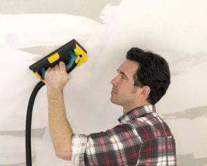 Шлифовка стен после шпаклевки – необходимые инструменты и поэтапное выполнение
