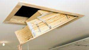Люк на чердак – организуем удобный лаз без помощи специалистов