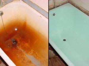 Реставрация ванны в домашних условиях – все возможные способы