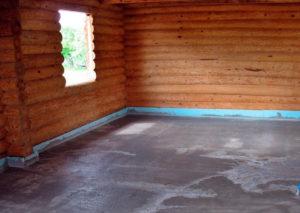 Наливные полы для деревянного основания
