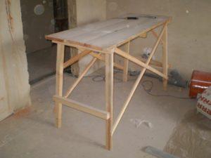 Козлы строительные: какие бывают и как сделать самостоятельно