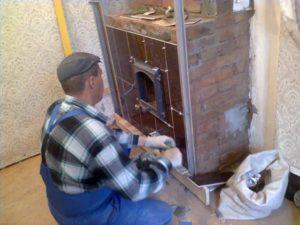 Как обложить печь кафельной плиткой – раскрываем секреты отделки