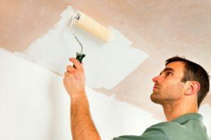 Как покрасить потолок водоэмульсионной краской – отделка без разводов