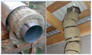 Чем утеплить дымоходную трубу – подбор материала и грамотная установка