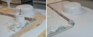 Как изготовить столешницу из искусственного камня своими руками?