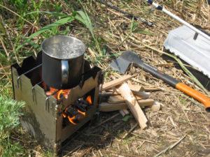 Самодельная походная печка – варианты самостоятельного изготовления