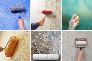 Нанесение декоративной штукатурки – все популярные способы