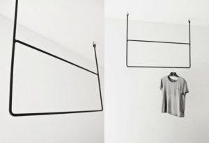 Вешалка для одежды – делаем акцент на функциональную модель