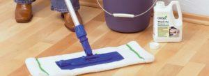 Чем помыть линолеум чтобы блестел: средства и уход