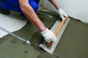 Выравнивание пола  и выбор покрытия для комнаты